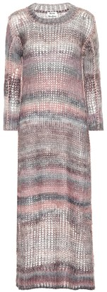 Acne Studios Mohair and alpaca-blend dress