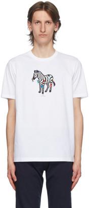 Paul Smith White Zebra Icon T-Shirt