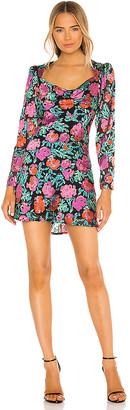 ASTR the Label Miriam Long Sleeve Mini Dress