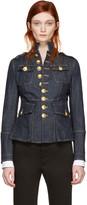 DSQUARED2 Blue Denim Livery Jacket