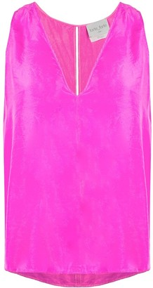 Forte Forte Loose Silk Tank Top