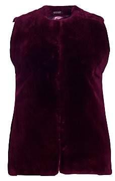 The Fur Salon Women's Sheared Beaver Fur Vest