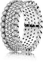 Pandora Ring 196313CZ-52 Silver Zirconia Luxurious Shine