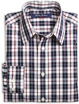 Brooks Brothers Boys' Double Plaid Shirt