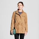 A New Day Women's Twill Anorak Hooded Jacket