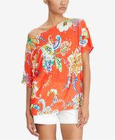 Lauren Ralph Lauren Floral-Print Linen Top