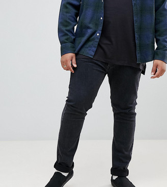 Lee plus luke skinny jeans in gray
