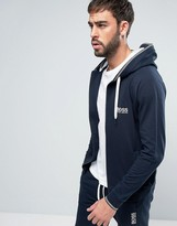 HUGO BOSS BOSS By Hooded Sweat Top With Logo
