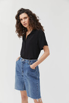 Urban Renewal Vintage Recycled Extra-Long Denim Bermuda Short