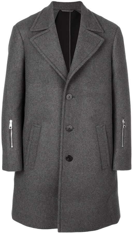 Neil Barrett single-breasted coat