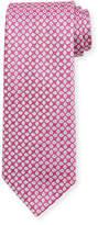 Charvet Spaced Floral Silk Tie