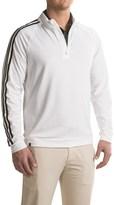 adidas 3 Stripes Layering Shirt - Zip Neck, Long Sleeve (For Men)