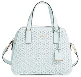 Kate Spade Cameron Street Perforated Little Babe Leather Satchel - Blue