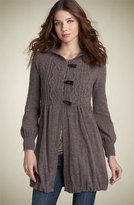 'Princess' Cable Sweater Coat