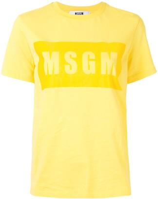 MSGM logo-print cotton T-shirt