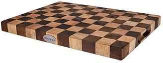 Baccarat Butchers Corner Endgrain Checker Chopping Board 38 x 28cm