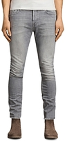 AllSaints Greaves Cigarette Slim Fit Jeans in Gray