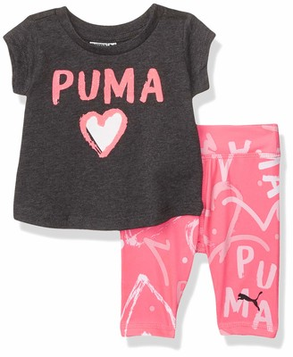 Puma Baby Girls' Tee and Legging Set