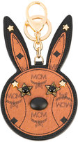 MCM bunny keyring - women - Calf Leather/plastic/metal - One Size
