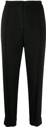 Kenzo Pleated Tapered-Leg Trousers
