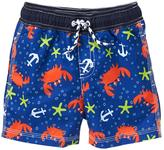 Gymboree Crab Swim Trunks