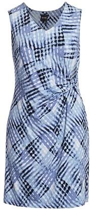 Nic + Zoe, Plus Size Cross-Over Twist Dress