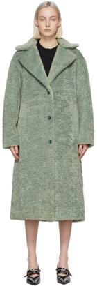 Proenza Schouler Green Teddybear Coat