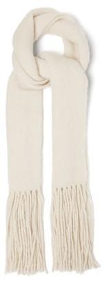 Joseph Tasselled Alpaca-blend Scarf - Ivory