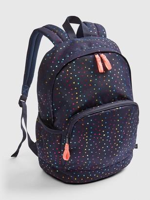 Gap Kids Heart Print Senior Backpack