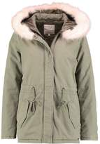 Tom Tailor Parka light military green