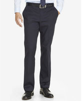 Express relaxed agent stretch cotton navy dress pant