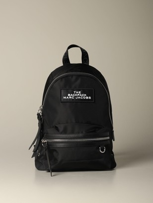 Marc Jacobs Medium Nylon Backpack With Logo