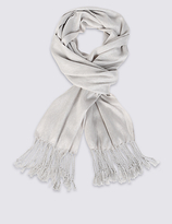 M&S Collection Metallic Effect Shimmer Scarf