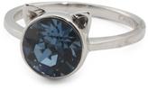 Sterling Silver Swarovski Crystal Cat Ears Ring