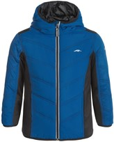 Pacific Trail Mixed Media Hooded Jacket (For Little Boys)