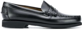 Sebago Panelled Leather Loafers