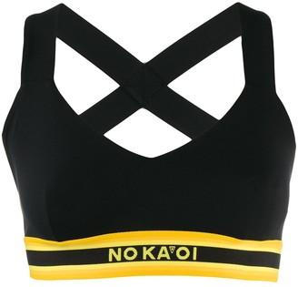 NO KA 'OI Chance cropped top