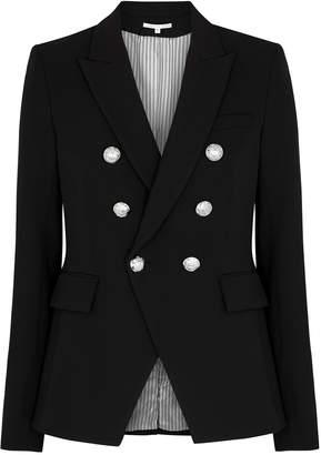 Veronica Beard Miller Black Double-breasted Blazer