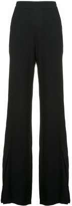 Josie Natori Grosgrain Seamed Trousers