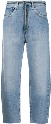 Levi's Made & Crafted high-waisted cropped jeans