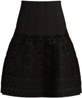 Roland Mouret Ellis textured-knit skirt