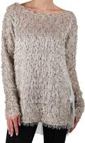 A'reve Lace Back Sweater