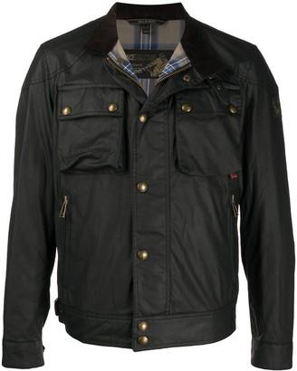 Belstaff Racemaster multi-pocket jacket