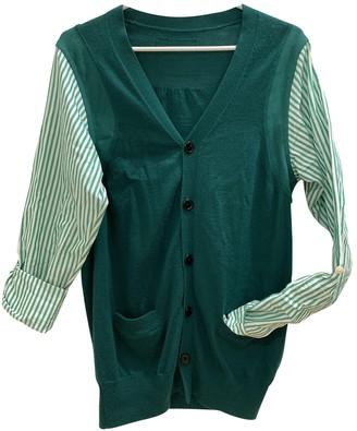 Comme des Garcons Green Wool Knitwear for Women