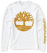 Timberland Tree Logo Long-Sleeve Tee