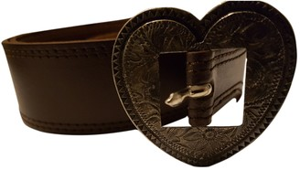 Kenzo Brown Leather Belts