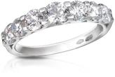 Forzieri 1.33 ct Prong-Set Diamond 18K Gold Ring