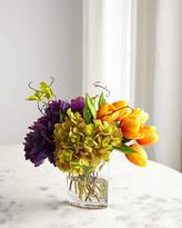 John-Richard Collection John Richard Collection Tangerine Tulips Floral Arrangement