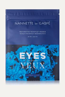 Nannette De Gaspé de Gaspe - Restorative Techstile Eye Masque - Colorless