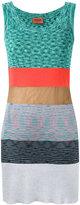 Missoni knitted mini dress - women - Cotton/Polyester/Cupro/Viscose - 42